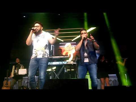 Henrique e Juliano na Live Curitiba