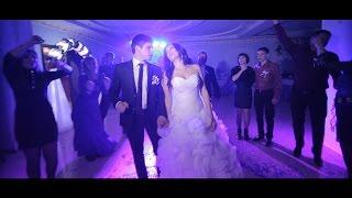 Самая веселая, поющая, танцующая свадьба. Красивая пара Антон и Юля