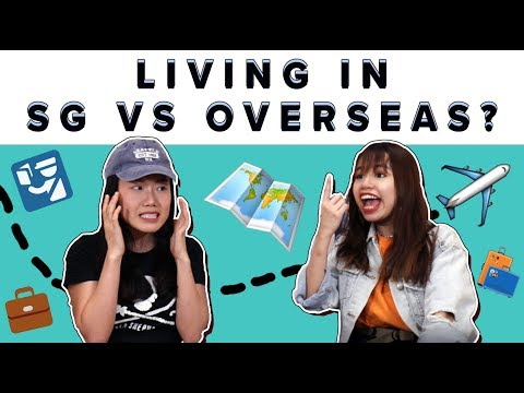 Living In Singapore Versus Overseas As A Millennial? |  ZULA ChickChats: EP 19