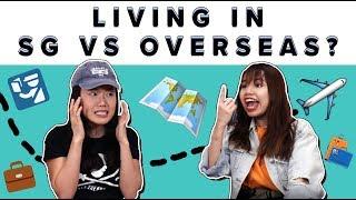 Living In Singapore Versus Overseas As A Millennial? |  ZULA Chickchats: EP 19
