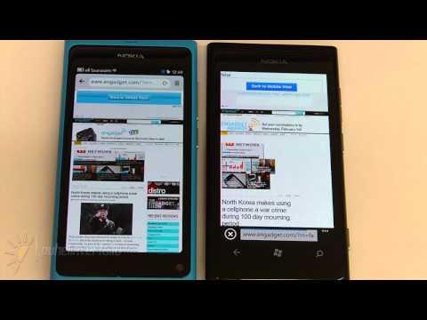 Nokia Lumia 800 & N9