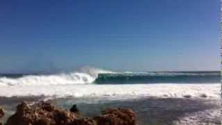 Massive surf at red bluff WA, 10 - 12 ft!