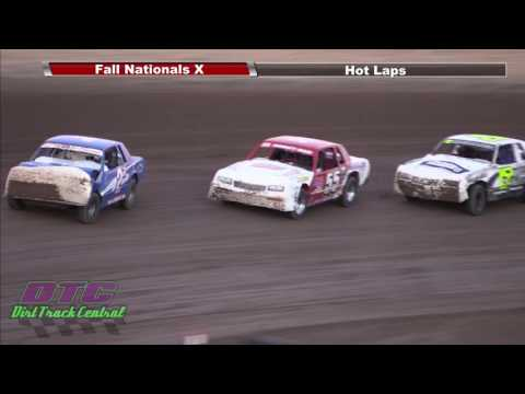 IMCA Hobby Stock Heats Fall Nationals RPM Speedway 10 7 16