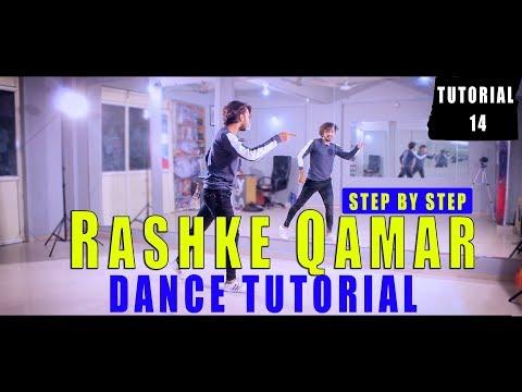 Rashke Qamar Dance Tutorial Step By Step | Lyrical Hiphop | Vicky Patel Choreography | Hindi