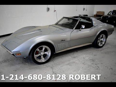 1972 Chevrolet Corvette Stingray 327 For Sale 23499 Youtube