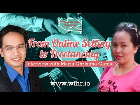 🔴 From Online Selling to Freelancing | Maria Christina Garci