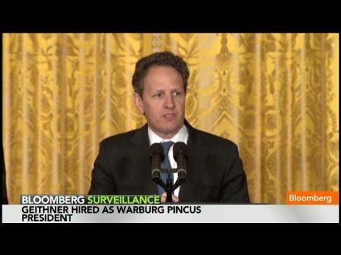 Geithner's New Gig: Why He's Joining Warburg Pincus