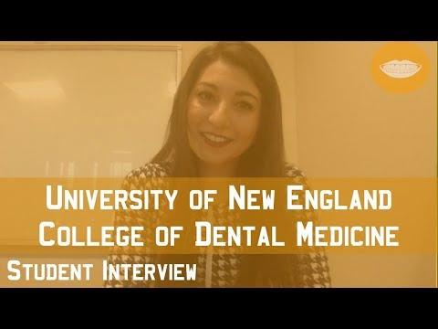 University Of New England College Of Dental Medicine Student Interview    FutureDDS