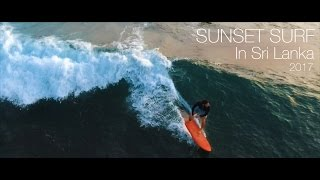 Surfing In Midigama Beach, Sri Lanka (2017)