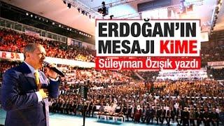Süleyman Özışık    Erdoğan Reis'e ihanet etti!
