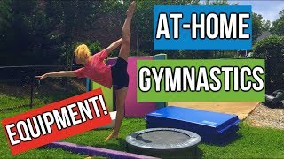 At-Home Gymnastics Equipment! (updated)