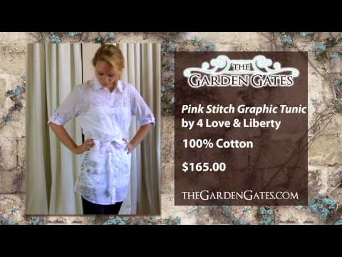 Graphic Tunic by 4 Love & Liberty