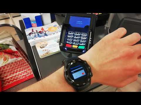 ❤️Paying With Huawei Watch 2 #NFC Android Google Pay #eSIM SmartWatch Filmed With Huawei P Smart📱👍