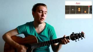Агата Кристи - Как на войне (Урок. Видео разбор на гитаре. Аккорды)