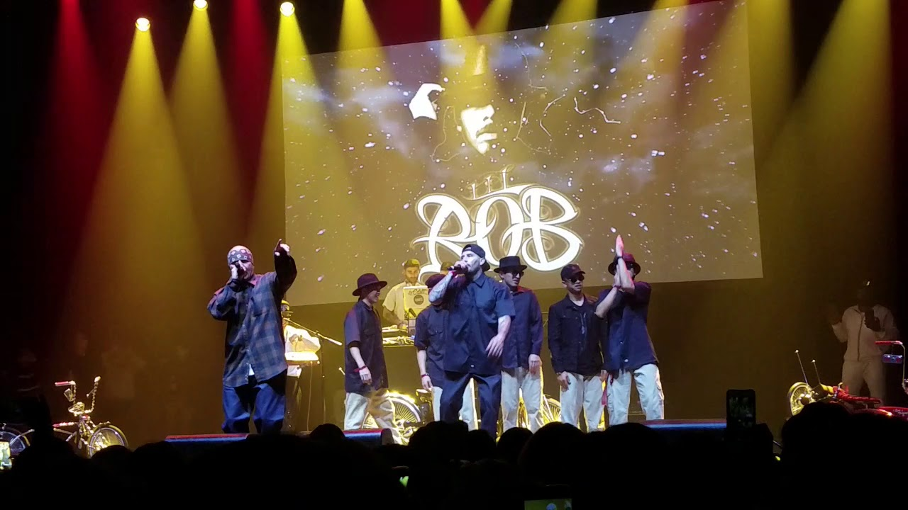 Lil Rob - Bringing It Back Concert NB Ridaz Reunion Los Angeles 2019