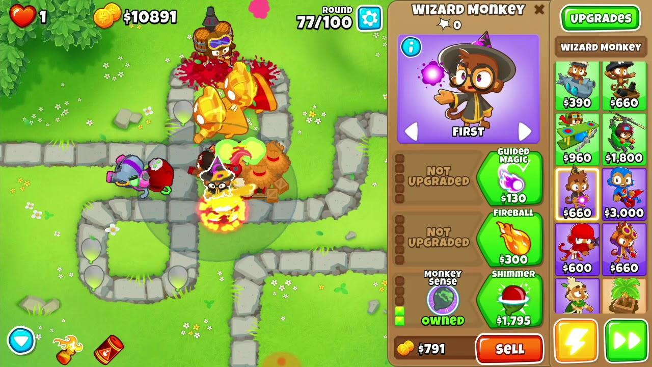 Monkey Meadow Impoppable Walkthrough - BTD6
