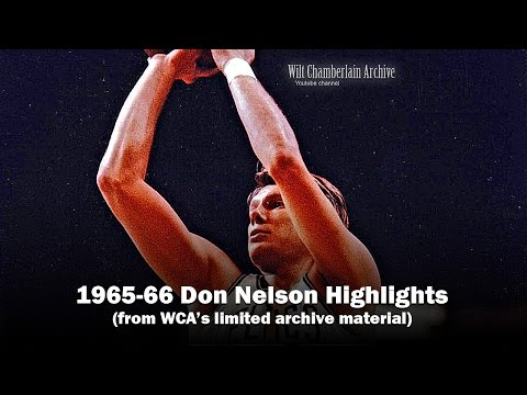 Don Nelson 1966 NBA Playoffs and Season Clips