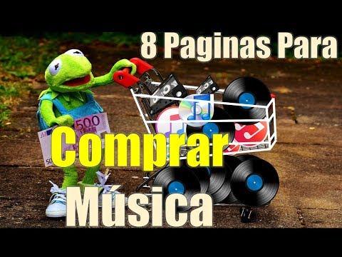 8 Paginas Para COMPRAR Musica ON Line