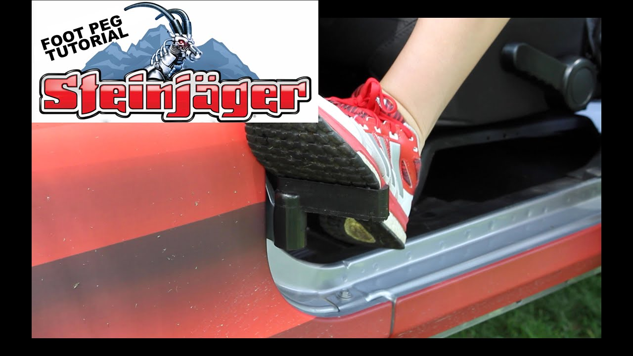& Steinager Foot Peg Tutorial - YouTube