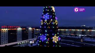 Ночной новогодний Витебск