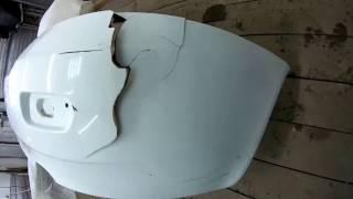 ремонт бампера калины-пайка покраска