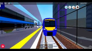 Roblox New Mnd The Gap ride on the Class 357 T2T Dellgate (Upper Level) to Wolfmill (ACCIDENT)