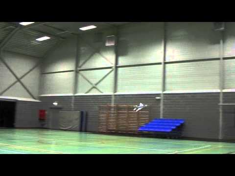 Rc Sukhoi Su-9 first indoor flight