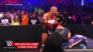 Roman Reigns vs  Triple H   WWE World Heavyweight Title Match  WrestleMania 32 on WWE Network   Wapt