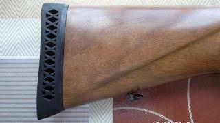 Ata Arms Neo 12 процесс установки резинового затыльника на приклад и их подгонка.