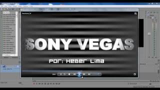 COMO CRIAR TEXTOS EM 3D COM EFEITO NO SONY VEGAS - PARTE 1