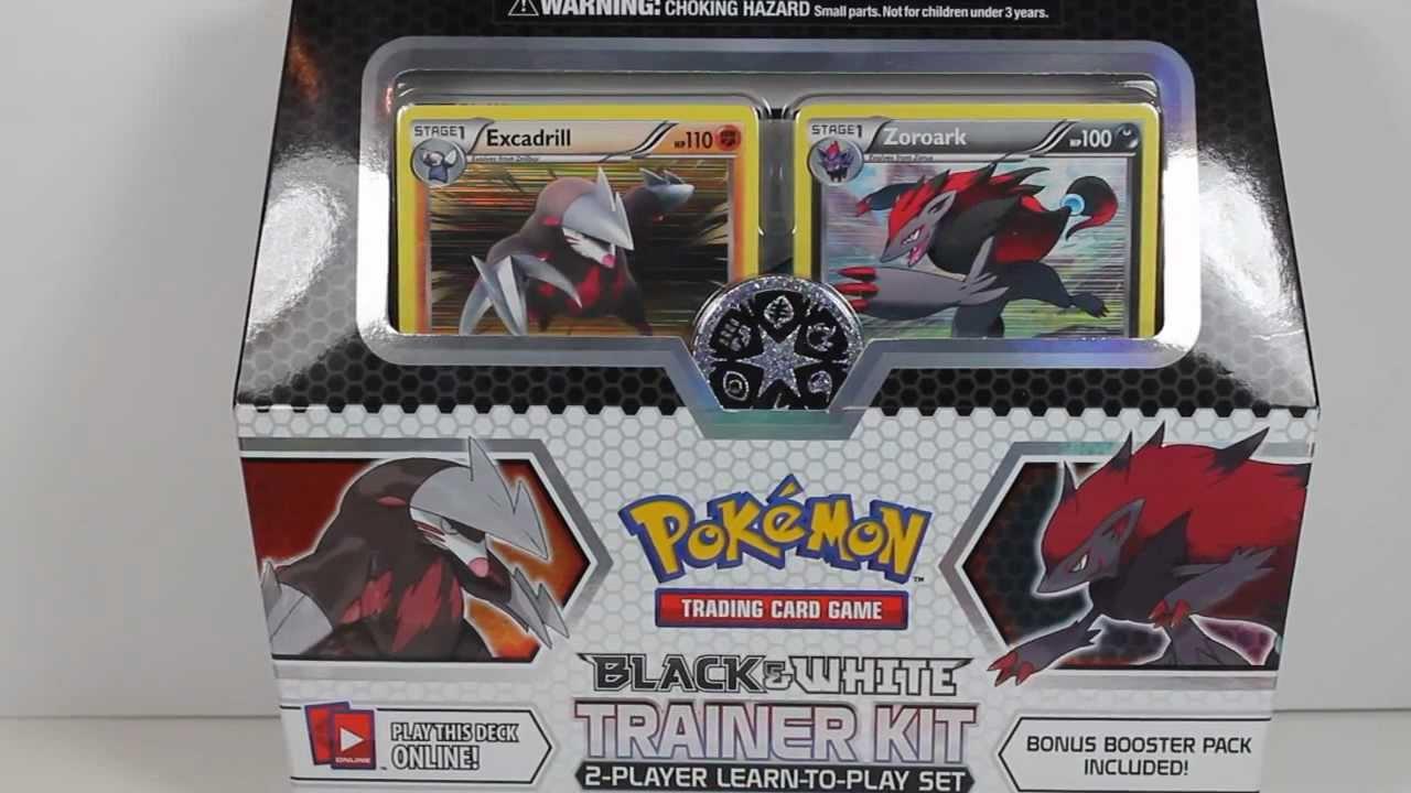 Pokemon Tcg Black Amp White Training Kit Unboxing Youtube