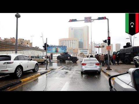 Libya hotel attack: Islamic State-linked militants attack luxury hotel in Tripoli