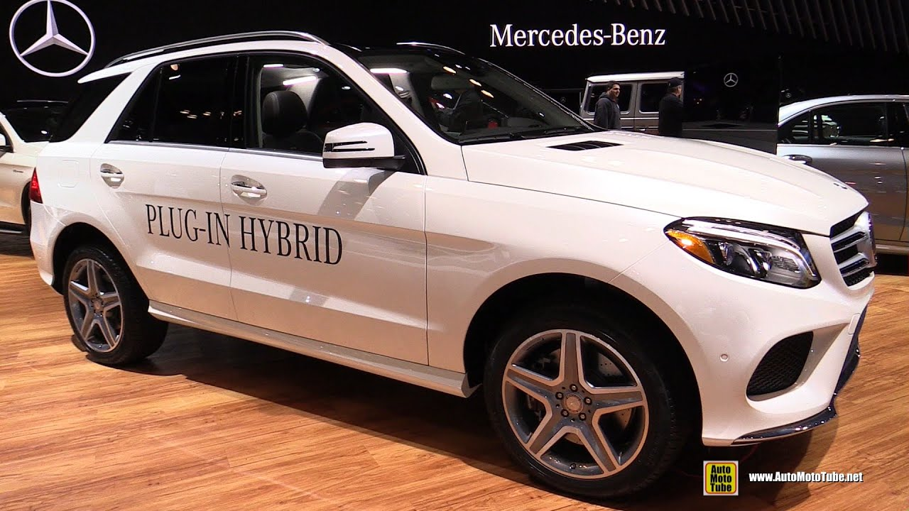2016 mercedes benz gle class gle550e 4matic plug in hybrid walkaround 2015 ny auto show youtube. Black Bedroom Furniture Sets. Home Design Ideas