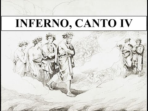 The Divine Comedy in 2 minutes - Inferno, Canto IV