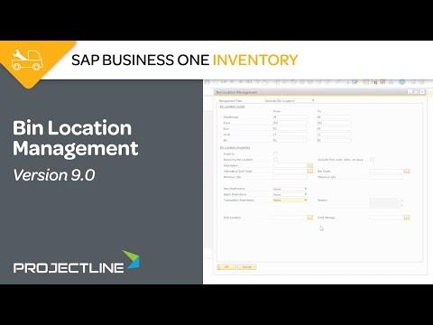 Advanced Warehouse Management: Bin Location Management