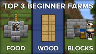 Minecraft Top 3 Beginner Farms To Get You Started