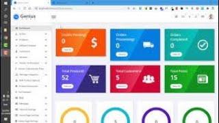 Vendors management in genius Cart ecommere website