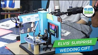 Elvis Gets a Surprise Wedding Gift | Elvis Duran Exclusive