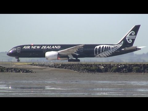 Aircraft Movements Auckland International Airport ✈ 14 March 2016