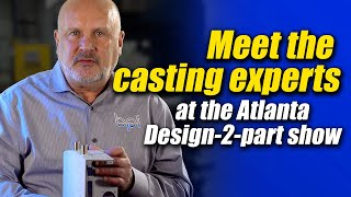 Any type of aluminum casting- free consultations at this show