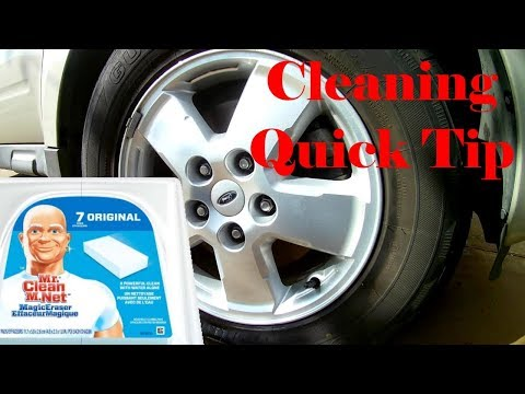 Magic Eraser - Cleaning Tip