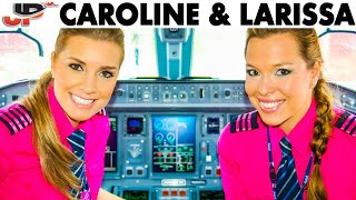 Caroline & Larissa pilot the Embraer E-195 out of Campinas thumbnail