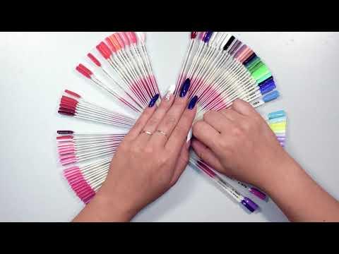 3 цвета маникюр