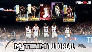 NBA 2K19: MyTEAM Tutorial