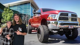 taking-a-subscriber-to-school-in-my-truck