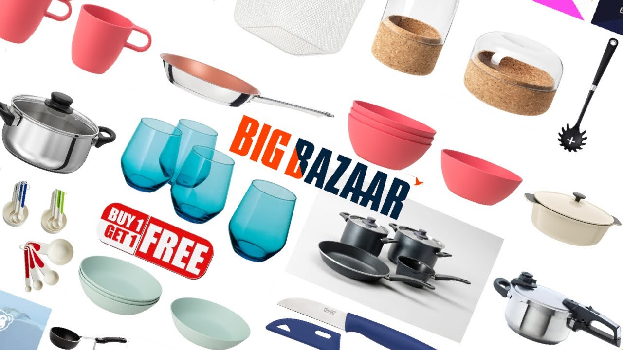 Big Bazaar Latest Shopping Haul Kitchen Products Offers