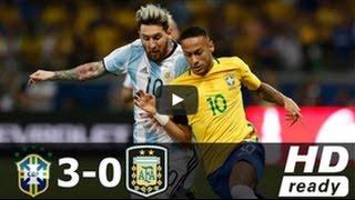 Brazil vs Argentina 3-0/ব্রাজিল বনাম আর্জেন্টিনা 3-0