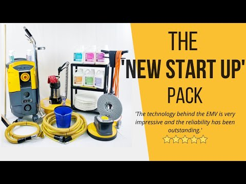 Professional Carpet Cleaning Equipment 2020 - The New Start Up Pack