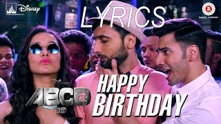 """When the lips are silent, heart has a hundred words. catch disney's abcd 2's track """"happy birthday"""". website : http://www.muzikarenayt.com song n..."""