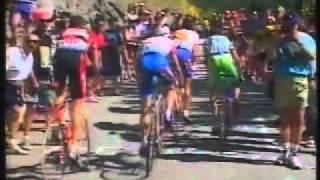 Ataque Pantani Alpe D´Huez 1997